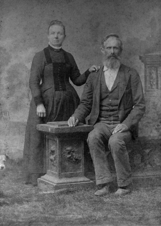 Rufus F Sr and Margaret Jacobs Higginbotham