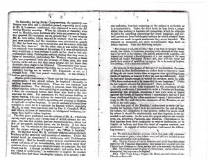 A Review of the Controversy on Baptism - Page 4 and 5