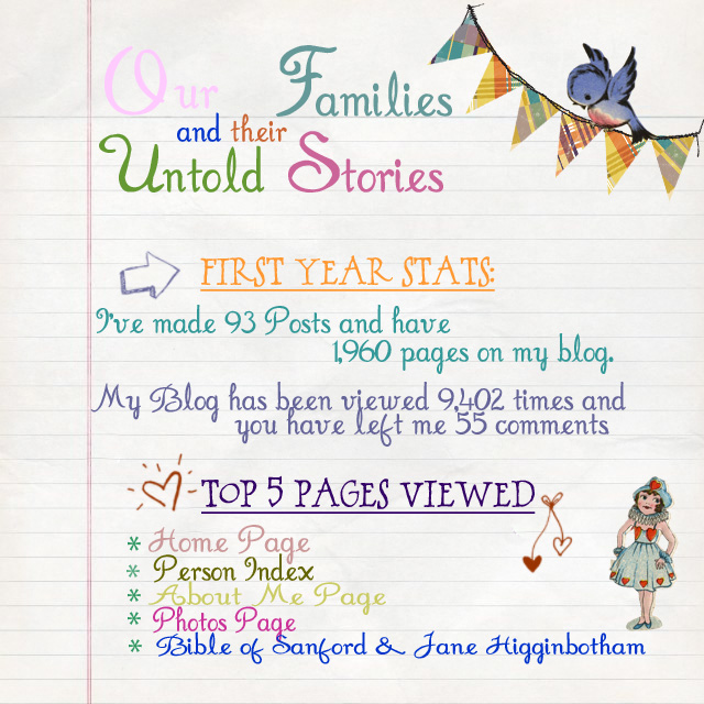 OFUS Stats first year
