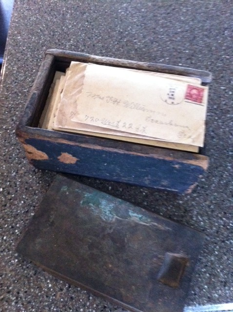 Williams box of letters