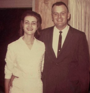 Mom and Dad Wedding Photo - 11 Sep 1964
