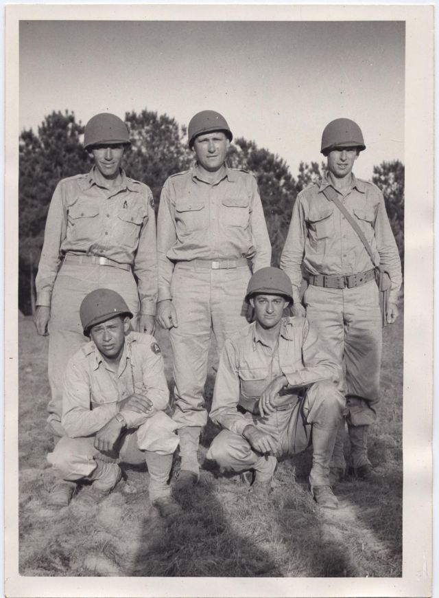 Officers of Company A 146th Engineers