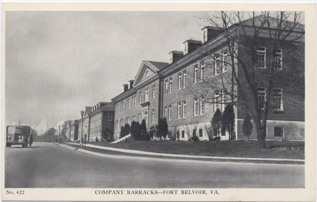 Company Barracks, Ft. Belvoir, VA