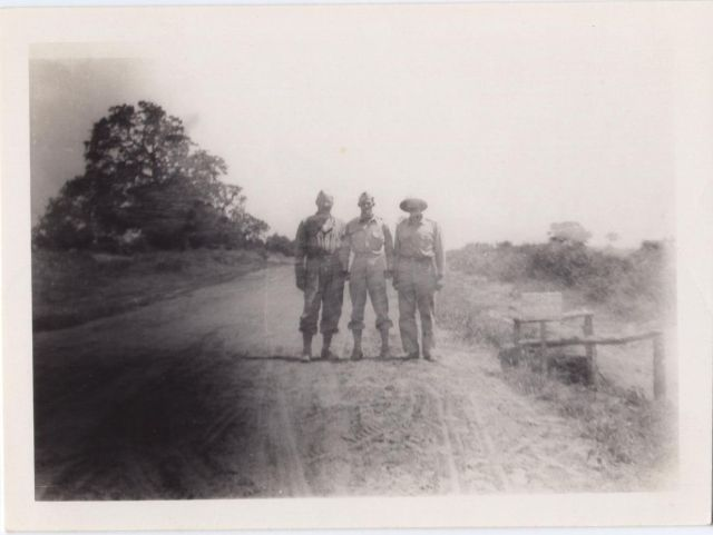 WWII Capt. Sam H. Ball, Jr. others unknown