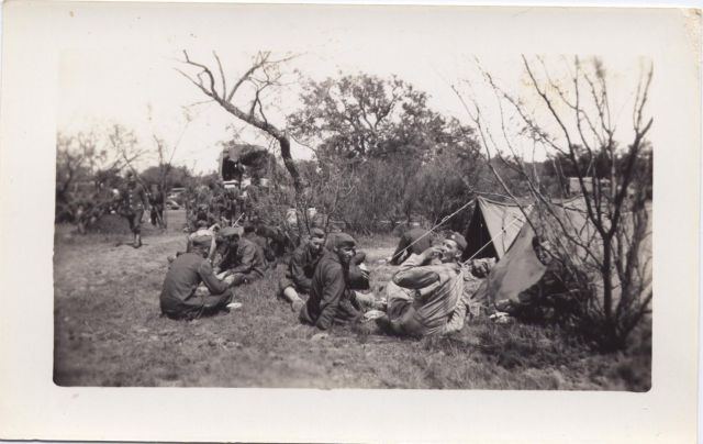 Taking a rest - the146th Engineer Combat Battalion WWII