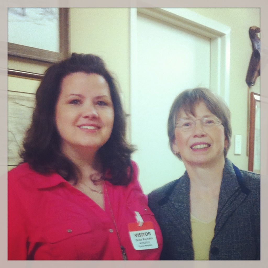 Susie Reynolds and Libby Craft