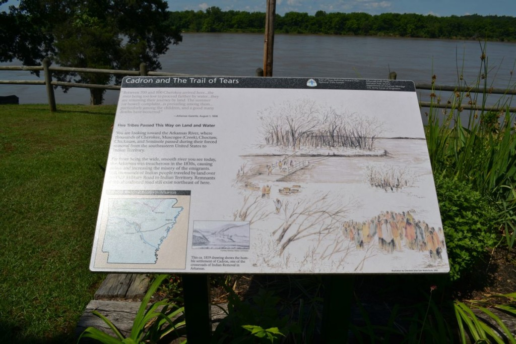 Trail of Tears at Cadron Settlement Conway AR