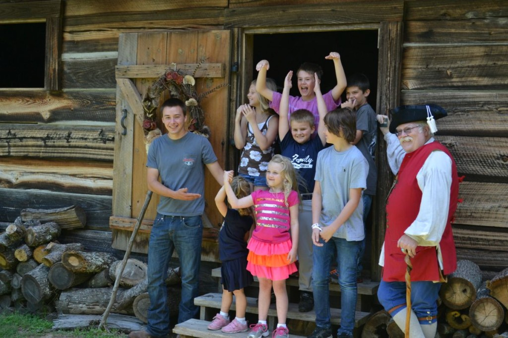Kids at Cadron Settlement Conway AR