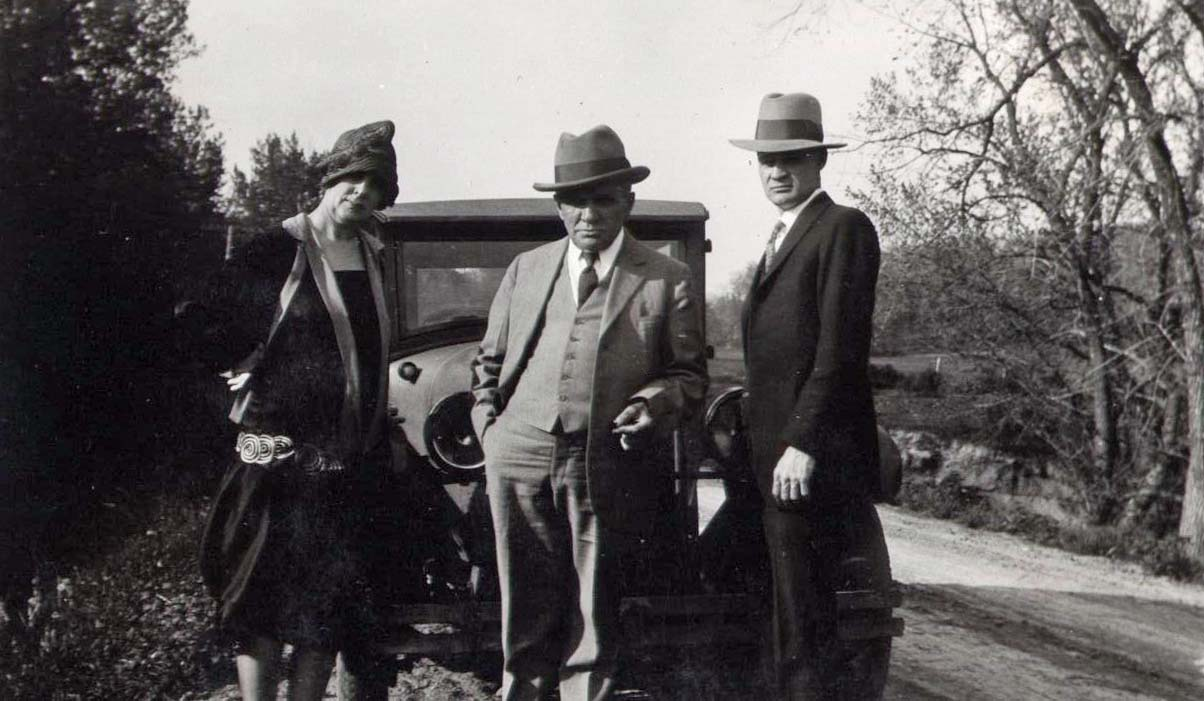 Emma Roleke, William Roleke, and Robert Jones