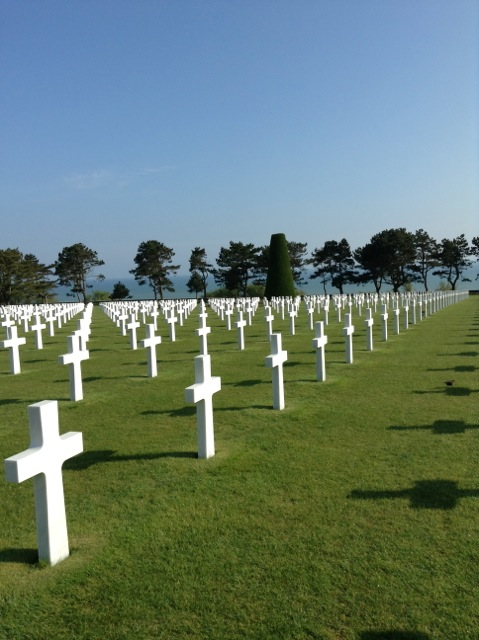 Military Cemetery Normandy France
