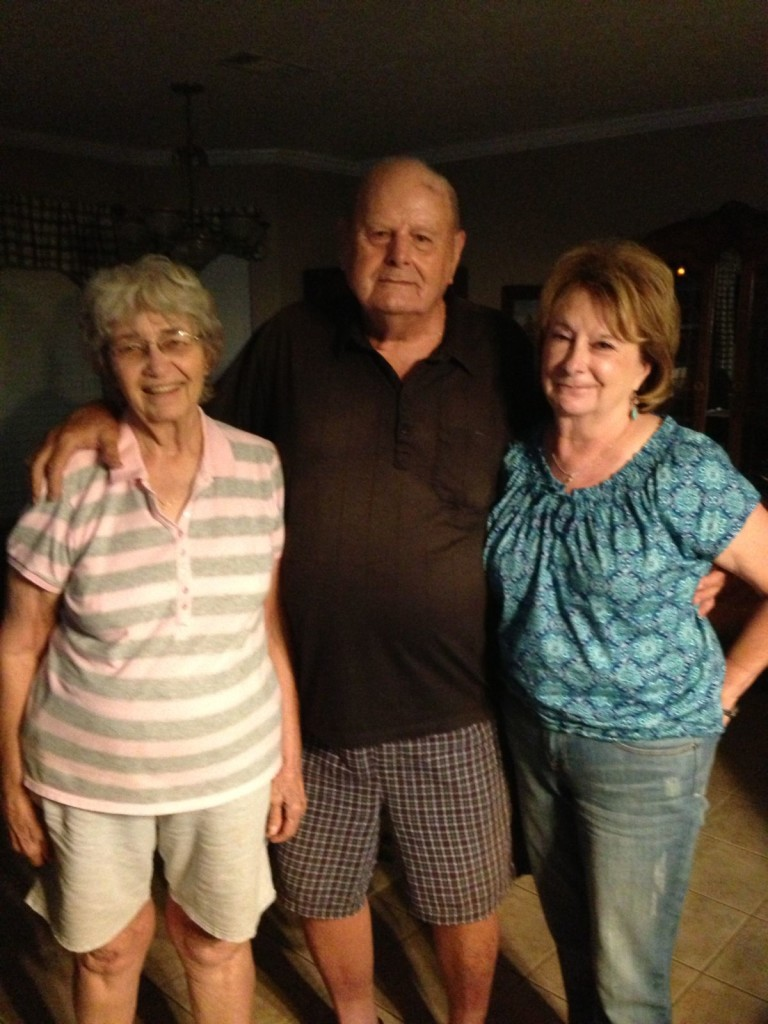 Mom, Dad and Debbie