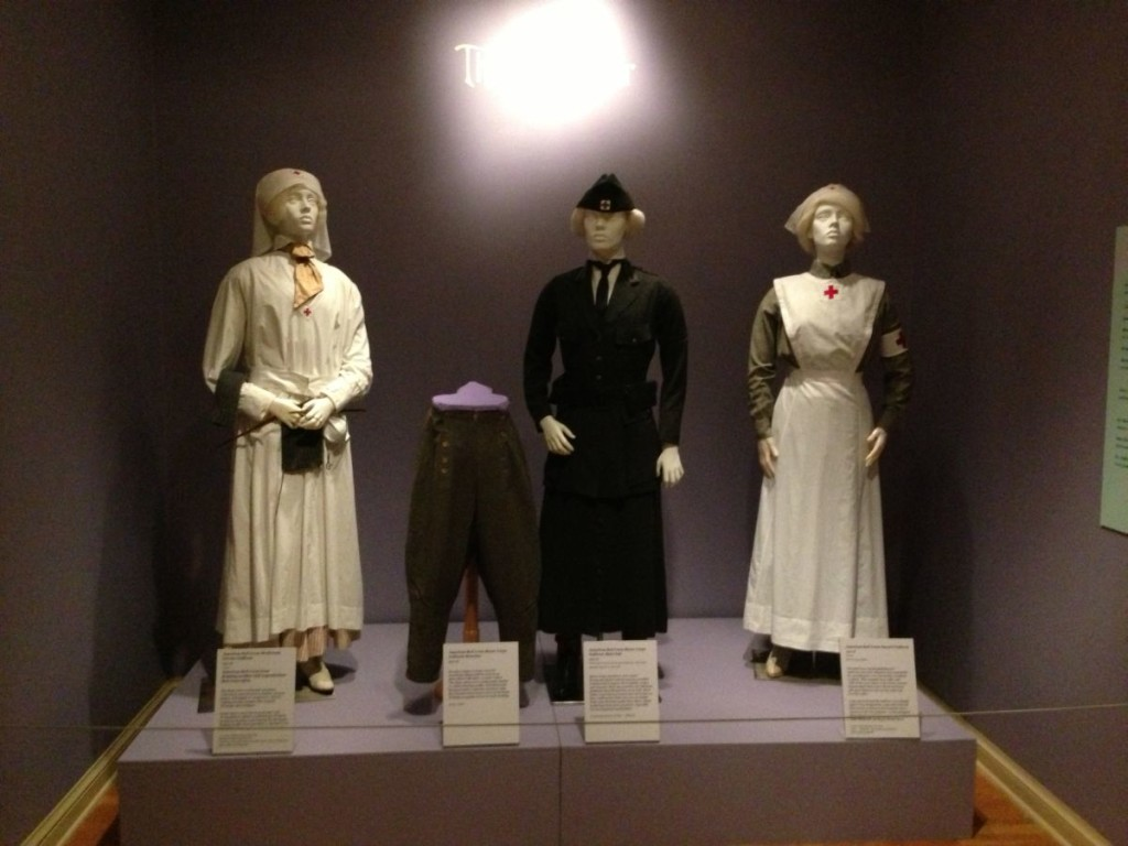 Red Cross Uniforms at DAR