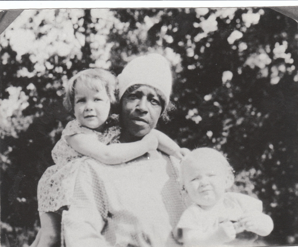 1928 Bonnie and Billy Harkness with Pree Carson