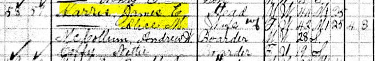 1910 Census Harris