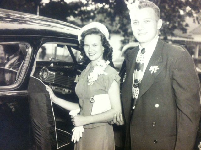 Gene and Norma Jean Davis - Wedding