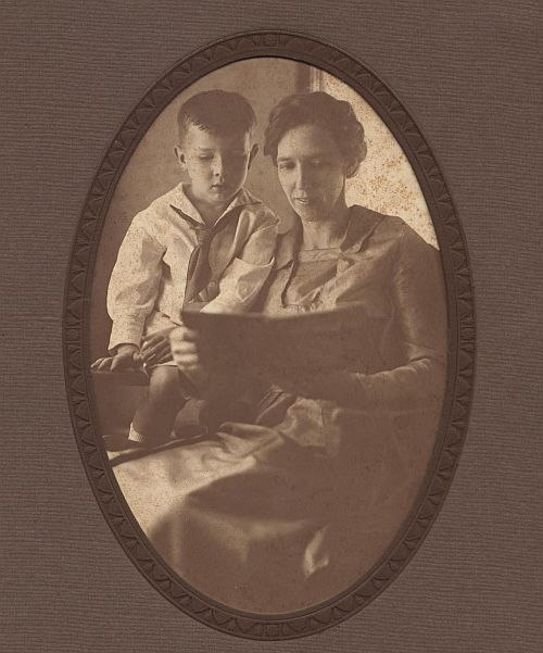 Bill Parks and his Aunt Mary Parks