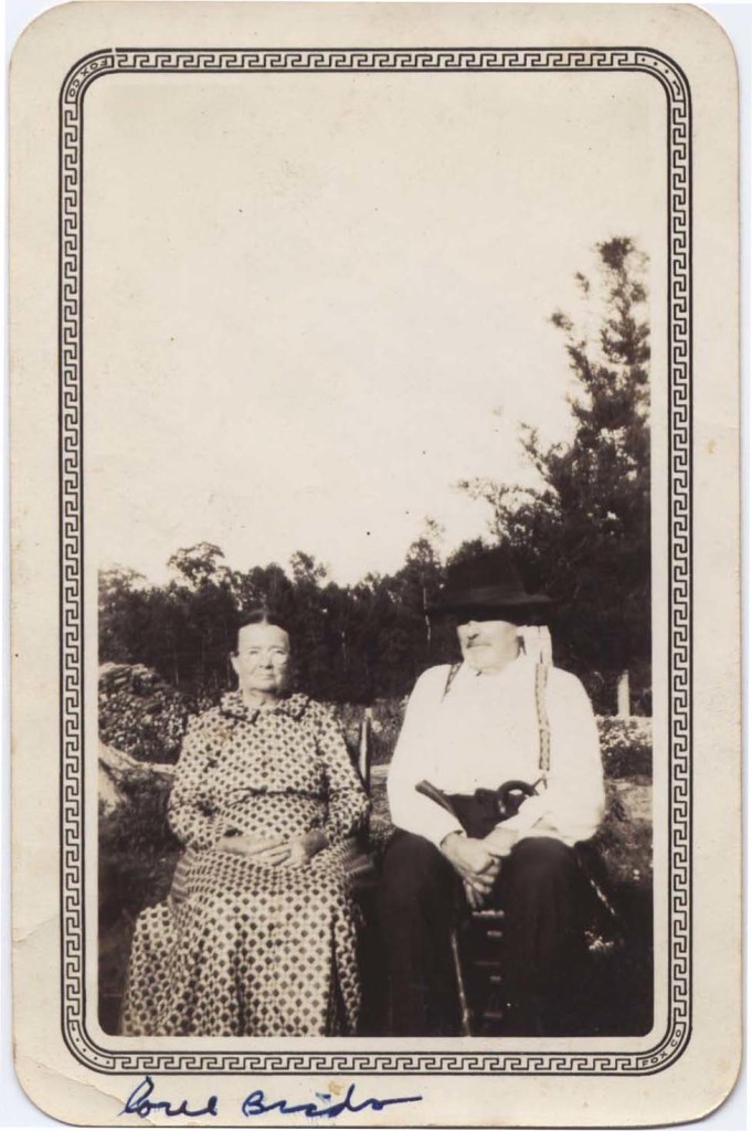 William Lynn Davis and his second wife, May