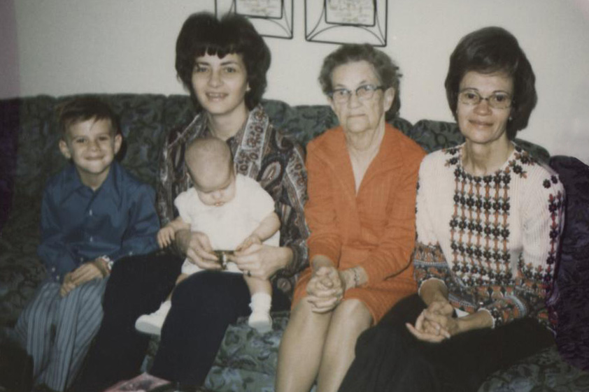 John, Mary Helen, Susanne, Wevie, and Mary
