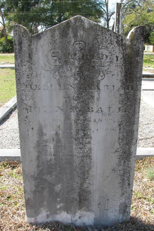 Hellen (Dennard) Ball Headstone