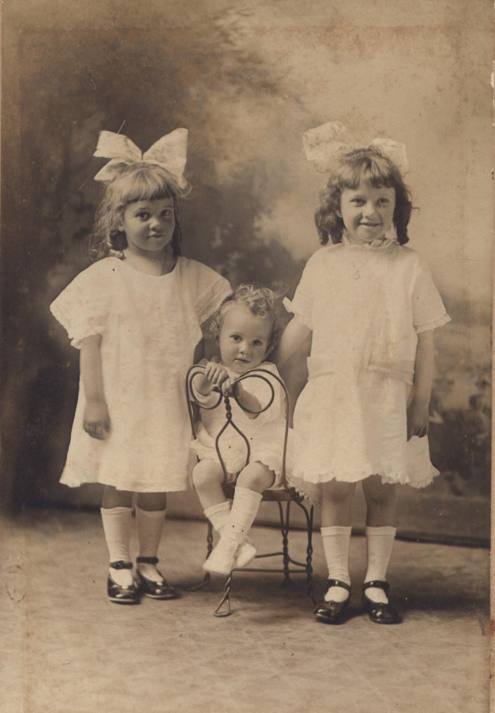 Mary (my grandmother), Sam (Uncle Son) and Dorothy (Aunt Dot)